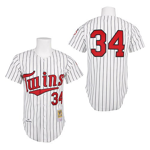 Minnesota Twins Authentic 1991 Kirby Puckett Home Jersey by Mitchell & Ness (XXL)