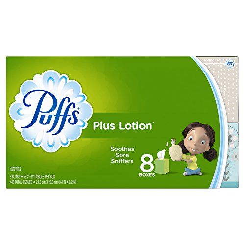 Puffs Lotion Facial Tissues Boxes product image