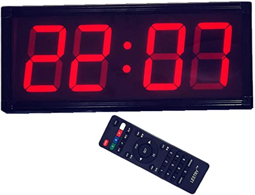 Liu Yu·casa creativa Reloj LED De Gran Tamaño Reloj De Pared Reloj ...