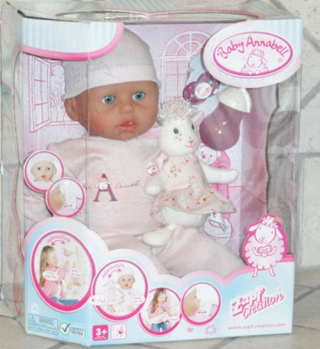 Zapf Creation Baby Annabell Doll 18""