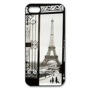 Hard back case with Eiffel Tower theme for iPhone 5c