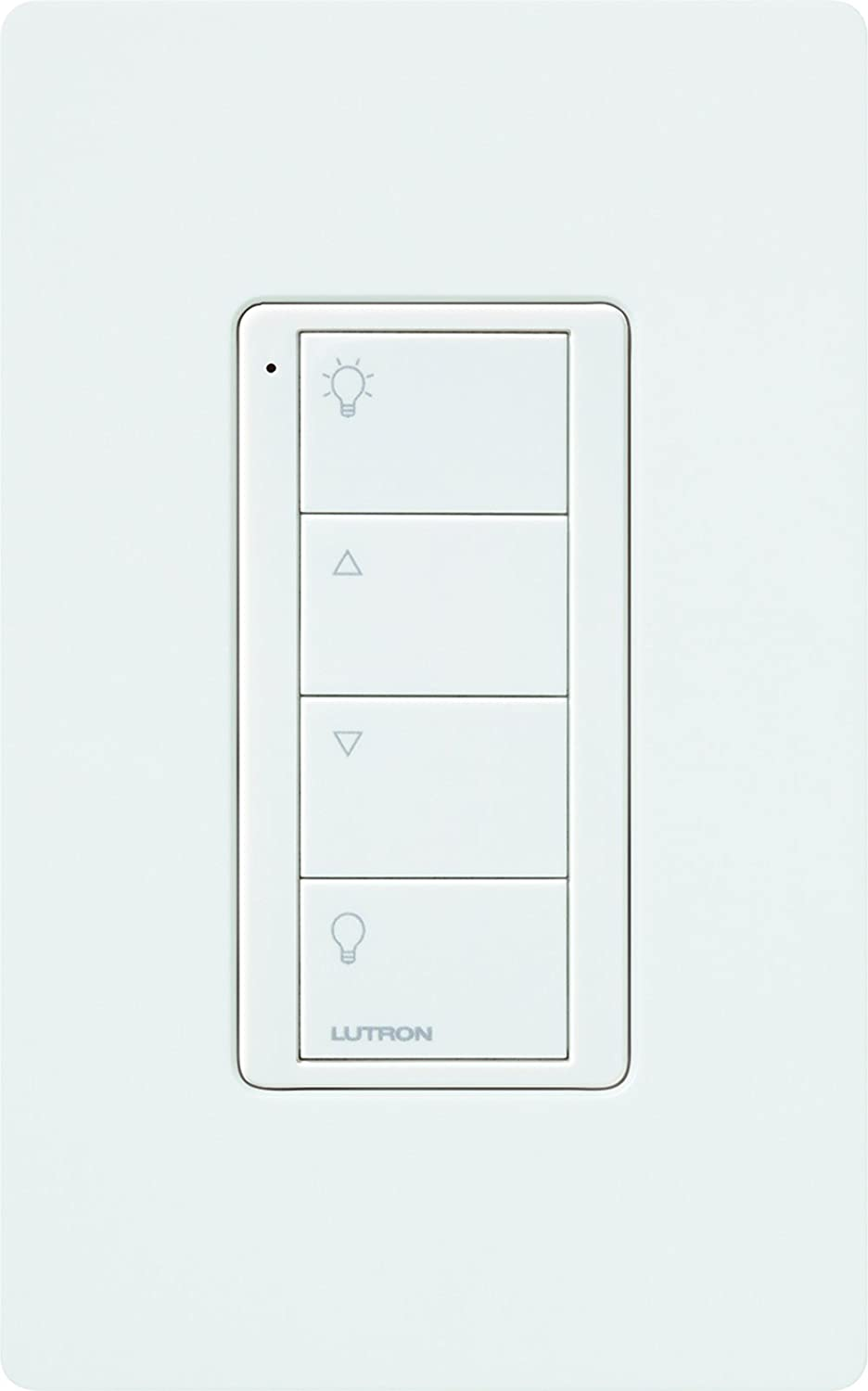 Lutron Lzl 4b Wh L01 Connected Bulb Remote Home Electrical Wiring Dimmer Switch