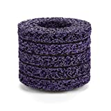 5PCS 100mm 60# Poly Strip Wheel Disc Abrasive Angel Grinders Clean Tool for Rust/Paint/Flaking Materials Removal - Purple&Gold