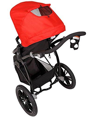 Papilioshop Manta – Cochecito para niños y bebés para caminar, senderismo, deporte de montaña, playa, ligero, económico, bolsa cubrepiernas, deporte, para ...