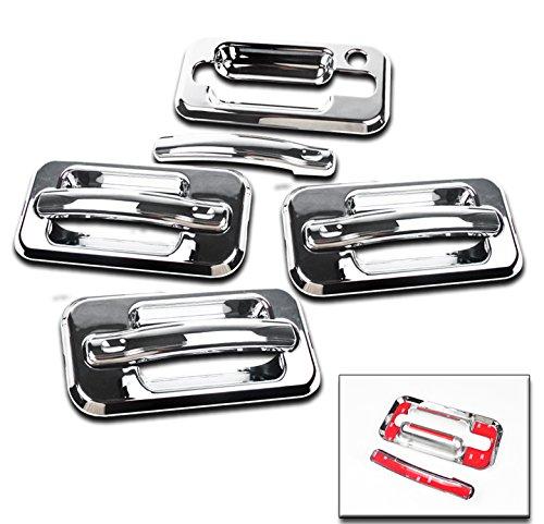 zmautoparts-hummer-h2-suv-sut-side-door-handle-cover-trim-chrome-w-o-passenger-keyhole