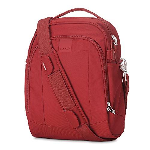 UPC 688334021771, Pacsafe Metrosafe LS250 Anti-Theft Shoulder Bag, Vintage Red
