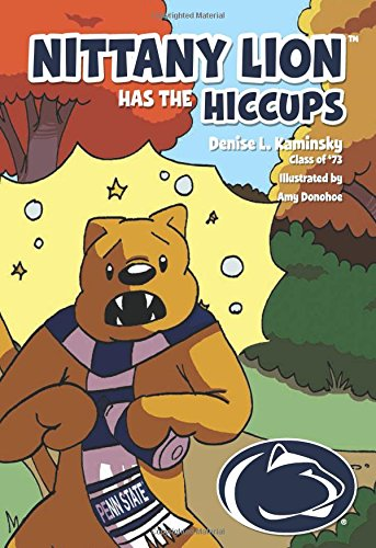 Nittany Lion Has the Hiccups by Mascot Books (Image #1)