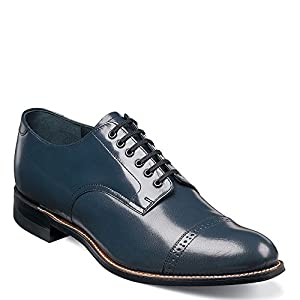 Stacy Adams Madison 00012 Men's Oxford 11.5 2E US Navy