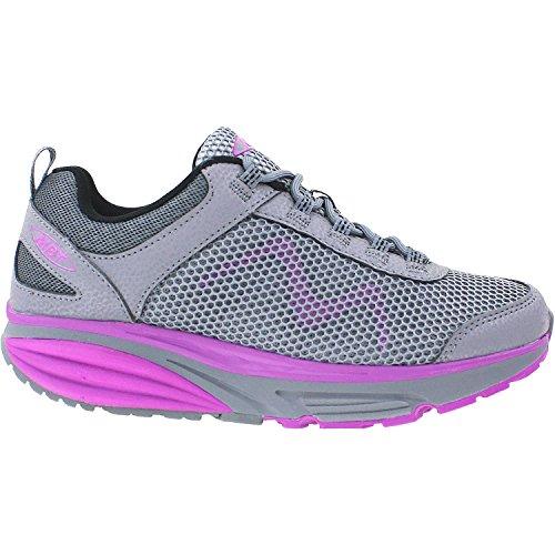 84e6ea6dd17e MBT Women s Colorado 17 Grey Purple Fitness Walking Shoes 702012-1123Y Size  10 (