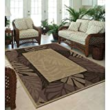 Orian Cancun Border Indoor/Outdoor Area Rug 5'x7'5''