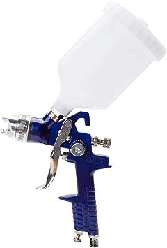 Amazon.com: WonVon 1.7mm Nozzle Spray Gun,Professional HVLP Air Spray Paint  Guns for Car Auto Repair Gravity Feed with Cup: Automotive