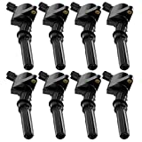 Set of 8 Ignition Coil for Ford Lincoln Mercury 4.6l 5.4l V8 Compatible with DG508, C1454, C1417, FD503, IC33, 3L3Z12029BA, 3L3E12A366CA, 3L3Z12029BA, 3L3U12A366BB