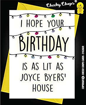 Birthday card stranger things joyce byers lit c987 free pp birthday card stranger things joyce byers lit c987 free pp bookmarktalkfo Choice Image