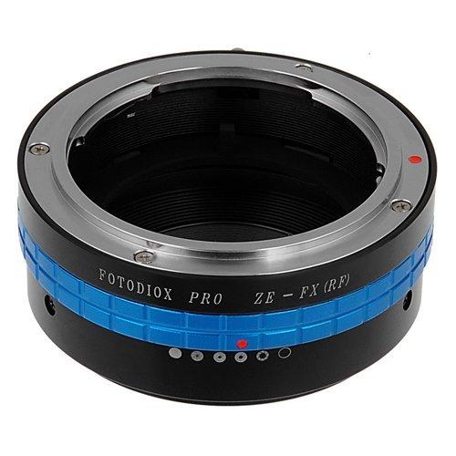 Fotodiox Pro Lens Mount Adapter - Mamiya 35mm (ZE) SLR Lens to Fuji Film X-Series Mirrorless Camera Body (X-Mount)