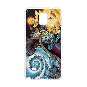 Doctor Strange Samsung Galaxy Note 4 Cell Phone Case White tyu jtxh