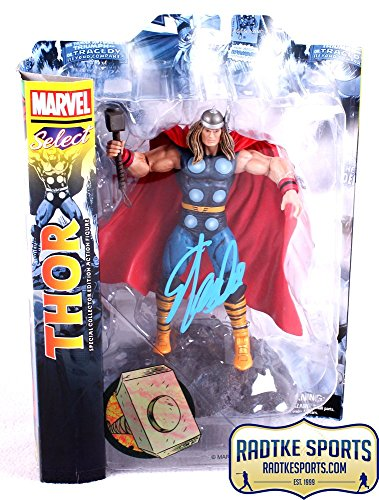 Stan Lee Autographed/Signed Marvel Select Thor In-Box Action Figure