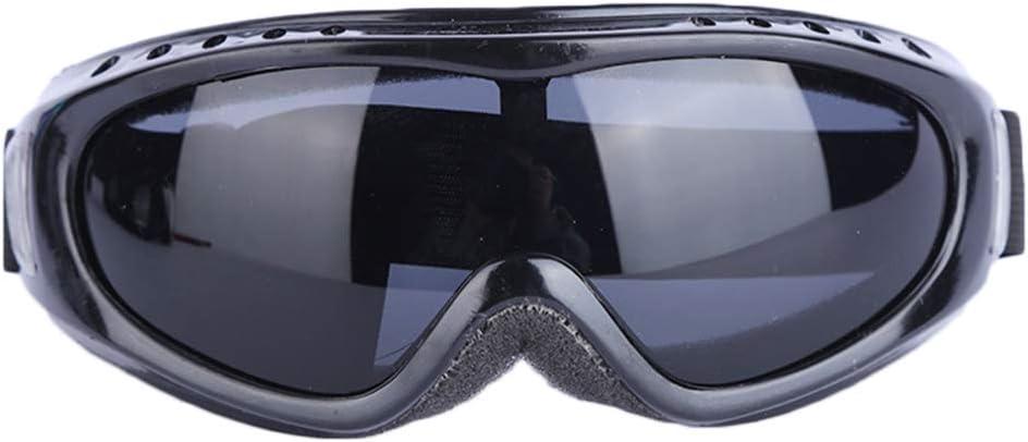 Runme Gafas de esquí a prueba de viento a prueba de polvo anti-arena anti-impacto soldadura Esquí Protección para los ojos Gafas de seguridad