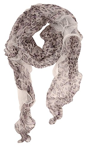 Love Lakeside Modern Lightweight Floral Scarves