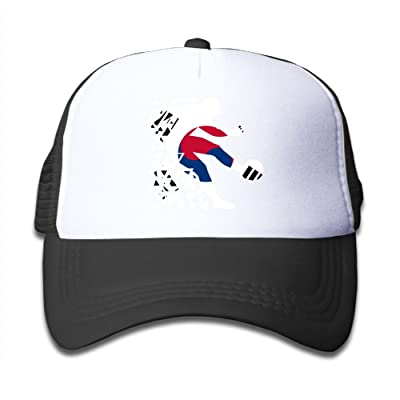 2018 Football Korea Boy Kids Adjustable Trucker Visor Caps Mesh Baseball Hats