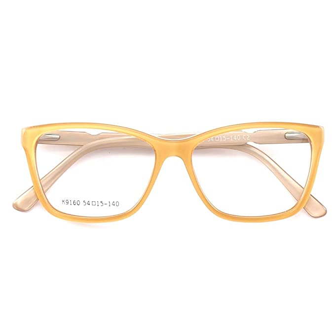 Women Basic Fashion Large Square Retro Nerd Geek Style Designer Eyeglass Frames by Youtop
