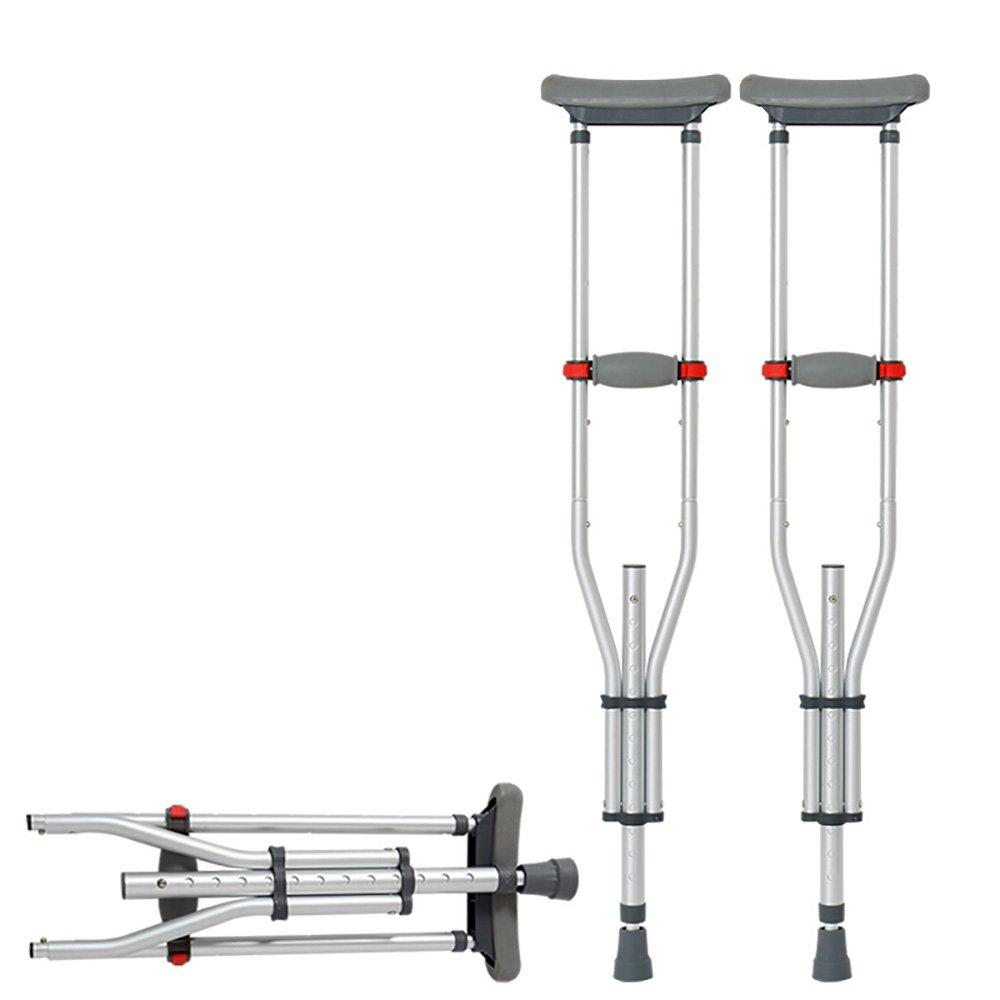 【60%OFF】 松葉杖を使用していない脚を太くする高齢者歩行者を滑り止めることができる高さ調節可能な折りたたみ式腕をする医療ウォーキングスティック(片足) B07MJG3WSX B07MJG3WSX, mihaus:bc600547 --- a0267596.xsph.ru