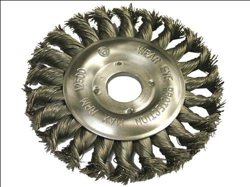 Faithfull WBCT125 Circular Wire Brush 125 x 12 x 22.2mm 0.50mm Wire