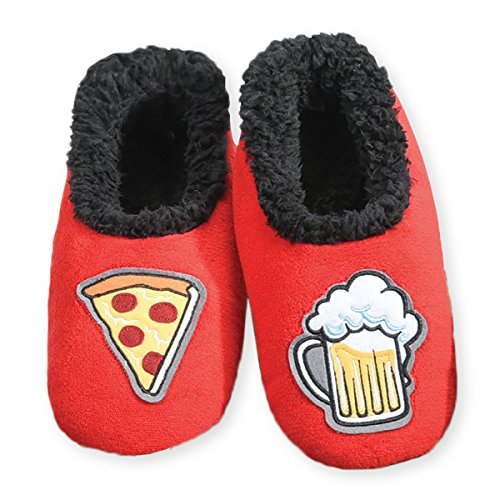 snoozies-mens-mancave-splitz-non-skid-slipper-socks-pizza-beer-large