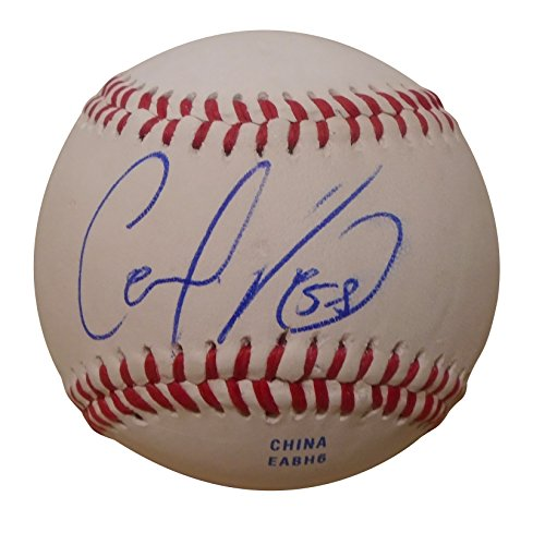 Los Angeles Angels Carlos Perez Autographed Hand Signed Baseball with Proof Photo of Signing and COA