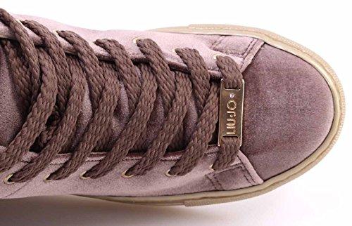 Liu Jo Damen Sneaker Alta Cannella High-Top Rosa