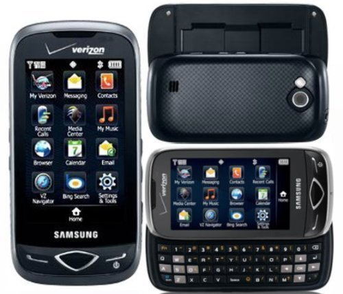 Samsung Reality SCH-U820 Phone QWERTY keyboard, 3-megapixel camera, Bluetooth for Verizon