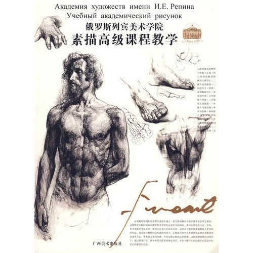 The Drawing Academy - Russian Repin Academy of Fine Arts: Drawing Advanced Course (Paperback)