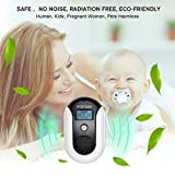 Mosquito Repellent, Electronic Ultrasonic Pest Repeller Variable Frequency Mouse Pest Repellent Effective Indoor Home Plug-in Bug Repellent Pest Control for Wasp Squirrel Roach Rodent Bedbug (Black)