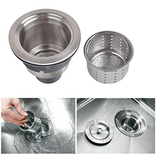 Kone Garbage G231 3 1 2 Inch Kitchen Sink Drain Removable