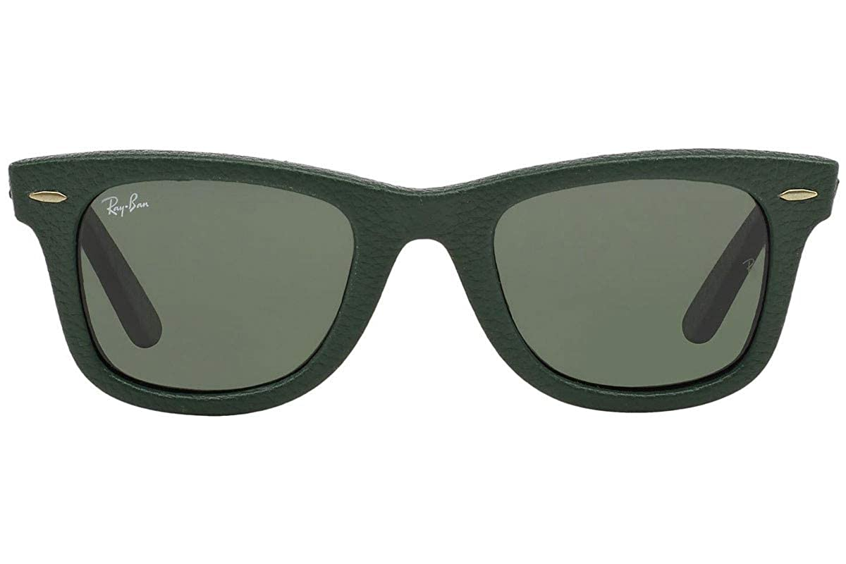 Ray Ban Wayfarer, Gafas de Sol Polarizado Unisex, Verde ...