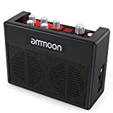 ammoon Guitar Amp POCKAMP Portable Guitar Amplifier Amp Built-in Multi-effects 80 Drum Rhythms Support Tuner Tap Tempo Functions with Aux Input Headphone Output, Power adapter included