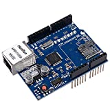 Qunqi W5100 Ethernet Shield Network Development board with Micro SD Card Slot for Arduino
