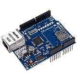 Qunqi W5100 Ethernet Shield Network Development board Module for Arduino 2009 UNO Mega 1280 Mega 2560 Nano Duemilanove