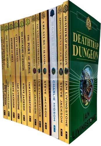 Steve Jackson Ian Livingstone Fighting Fantasy 20 Books Collection Pack Set R...: Amazon.es: Libros