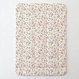 Carousel Designs Pink Hawaiian Floral Toddler Bed Comforter