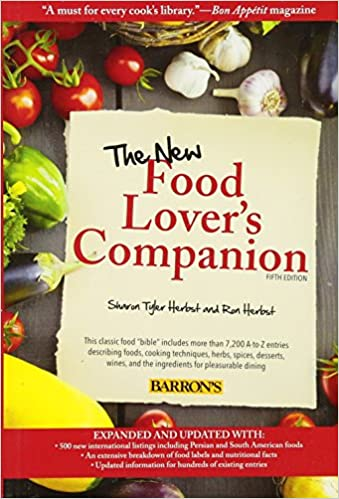 The new food lovers companion ron herbst sharon tyler herbst the new food lovers companion ron herbst sharon tyler herbst 9781438001630 amazon books forumfinder Images