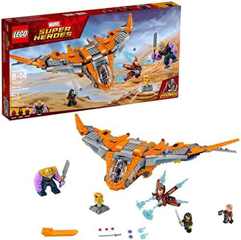LEGO Marvel Super Heroes Avengers: Infinity War Thanos: Ultimate Battle 76107 Building Kit (674 Piece)