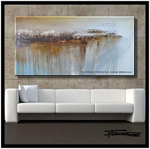 Eloise World Studio - ELOISExxx Abstract, Canvas Oil Painting, Wall Art, Limited (Limited Edition Giclee Art)