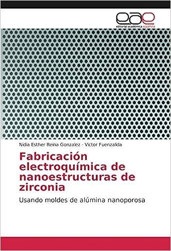 Fabricación electroquímica de nanoestructuras de zirconia: Usando moldes de alúmina nanoporosa (Spanish Edition): Nidia Esther Reina Gonzalez, ...