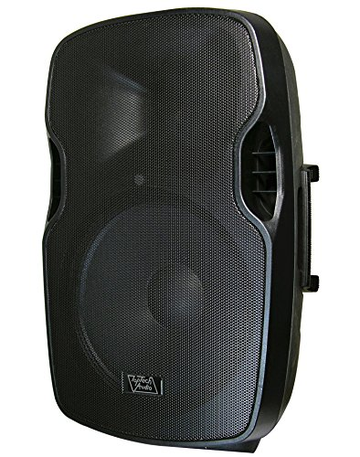 "Lowest Price! Top Tech Audio Fully Amplified 3000 Watts Peak Power 15"" 2- Way Speaker"