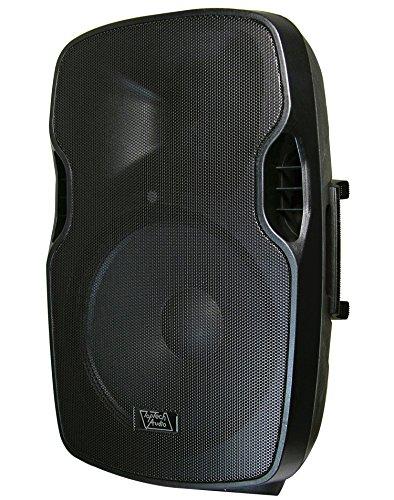 "Lowest Price! Top Tech Audio Fully Amplified 3000 Watts Peak Power 15"" 2- Way Speaker"