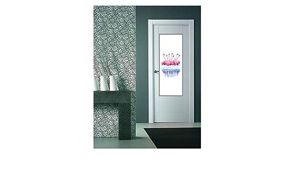 CustomGlass Cristal Decorado para Puertas de Interior Modelo Gador ...