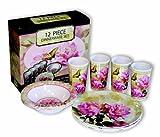 Cheap Motorhead Products Floral 12-Piece Dinnerware Set
