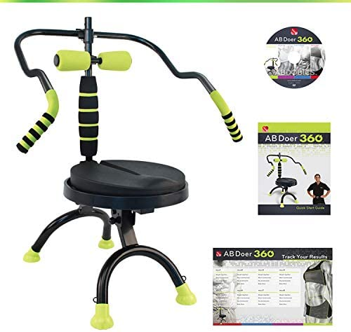 AB Doer 360 Kit, The Abs Workout Equipment for Total Core Exercise, Fat Burning, Toning and Fitness at Home 2