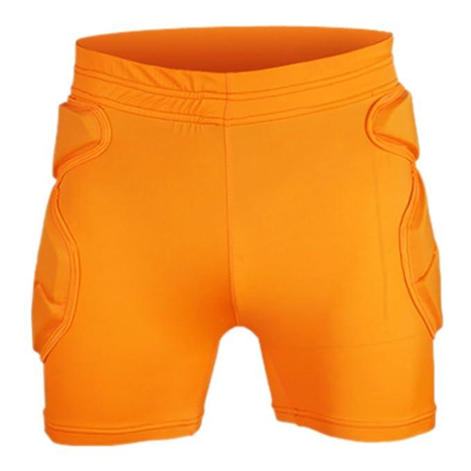 Amazon.com: Pantalones cortos de portero ropa codo ...