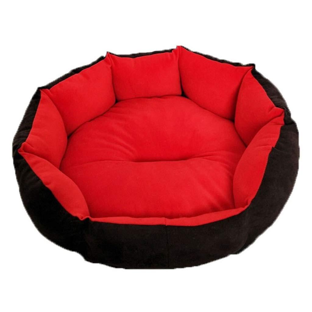 3  45cm45cmDSADDSD Pet Bed Cat Nest Doghouse Four Seasons Available Small And Medium Dog Pet Nest Pet Supplies (color   4 , Size   45cm45cm)